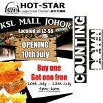 Hot Star Malaysia Buy 1 FREE 1 promotion!