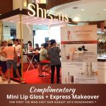FREE Shizens's Mini Lip Gloss + Express Makeover Giveaway!