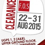 F.O.S Clearance Event!