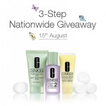 FREE Clinique's 3-Step minis Giveaway!