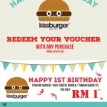 FREE Kissburger voucher Giveaway!