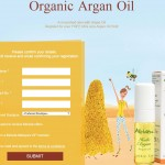 FREE  Argan Oil Sample Giveaway!