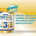 NAN HA® Grow 3 special promotion!