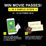 FREE TGV Movie Pass Giveaway!