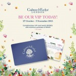 FREE VIP Crabtree & Evelyn membership (worth RM350) Giveaway!