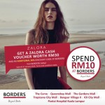 FREE ZALORA voucher worth RM30 Giveaway!