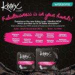 FREE new Kotex Luxe Ultrathin Giveaway!