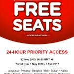 AirAsia Free Seat is coming soon!