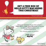 FREE Hello Kitty Gourmet Cafe Box of Hello Kitty Macaroons Giveaway!