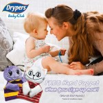 FREE Dypers hand puppet worth 850 points as welcome gift!