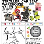 GBS Branded Toy Stroller, Car Seat Warehouse Sales!