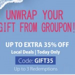 Groupon Offer Up To Extra 35%off Promotion!
