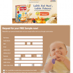 FREE CERELAC® Infant Cereals sample to your doorstep!