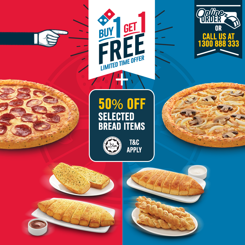 Domino's pizza 50 off coupons