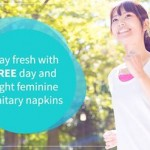 FREE day and night feminine sanitary napkins Giveaway!