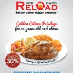 Kenny Rogers ROASTERS 30%off Promotion!