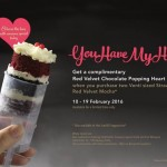 FREE Starbucks Red Velvet Chocolate Popping Heart Cake Giveaway!