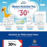 FREE Philips Avent 30% Bonus Coupon Giveaway!