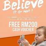 FREE The Parenthood RM200 Cash Voucher Giveaway!