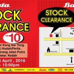 Bata Stock Clearance, Price as low as RM10 only!