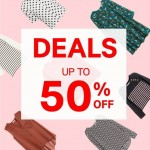 H&M Offer up to 50% off Promotion!