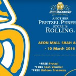 FREE Auntie Anne's Pretzel and Cash Voucher Giveaway!