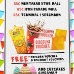 Golden Screen Cinemas FREE Popcorn Voucher and Discount Voucher Giveaway!