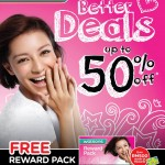 Watsons Awesome Deals up to  50%off Promotion!