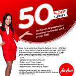 AirAsia Offer 50%off for Rayani Air Passengers!