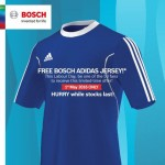 FREE Bosch Adidas Jersey Giveaway!