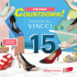 Vincci Final Countdown E-warehouse Clearance at RM15 Only!