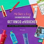 FREE Watsons RM30 off Giveaway!