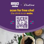 FREE Chatime Drink Giveaway!