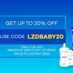 Lazada Baby Fair, Up To 70%off Discount!