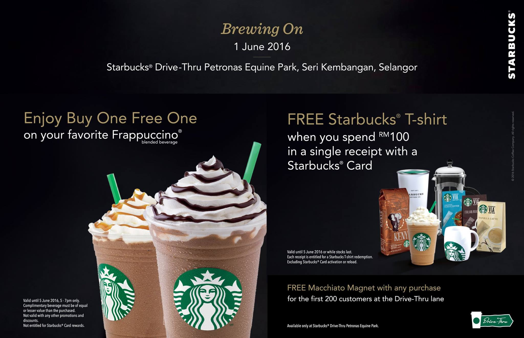 Starbucks Buy 1 Free 1 On Your Favorite Frappuccino Blended