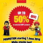 Lego Offer 50%off Promotion!