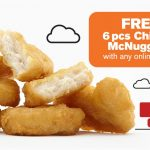 FREE McDonald's 6pcs Chicken McNuggets Giveaway!