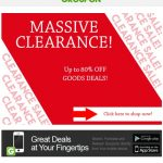 Groupon MASSIVE Clearance!