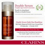 FREE Clarins Double Serum Daily Duo Sample Giveaway!