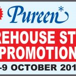 Pureen Warehouse Stock Promotion!