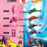 FREE McDonalds NEW Barbie Spy Squad or Justice League Hot Wheels Giveaway!