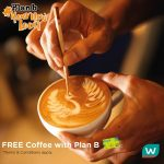 FREE a Cup of Plan B Coffee Giveaway!
