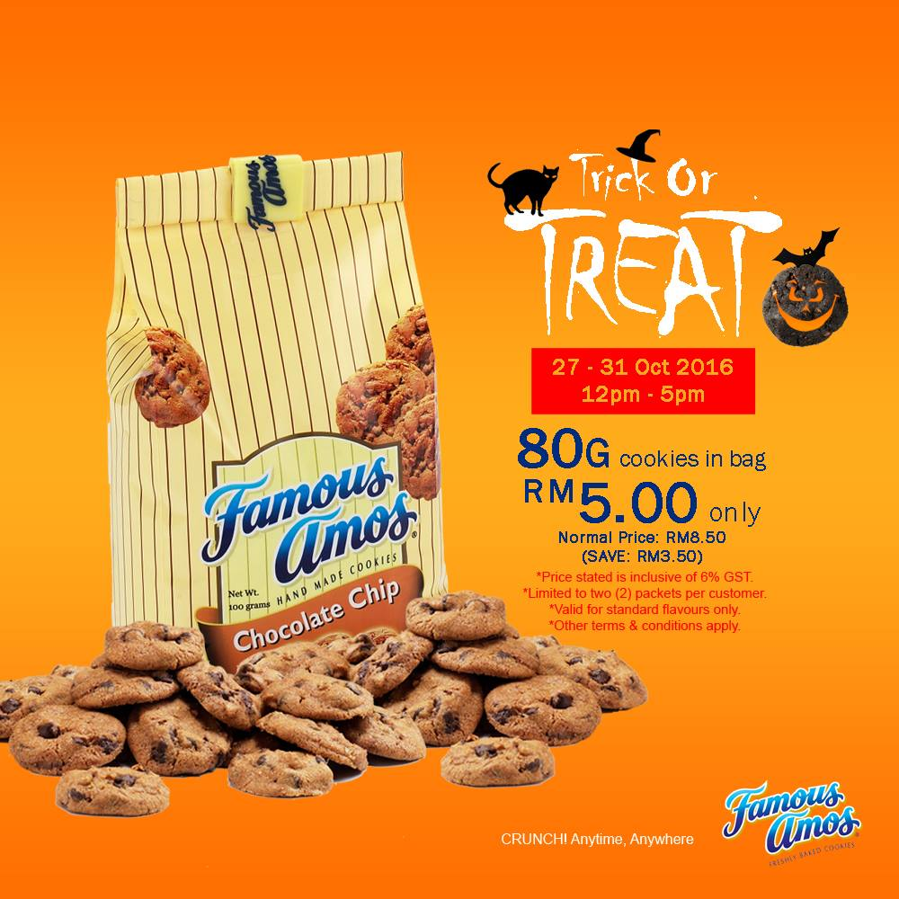 Worksheet Famous Amos famous amos offer rm5 cookies in bag only per pack deals