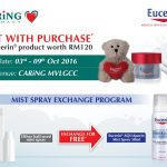 FREE Eucerin AQUAporin Mist Spray 50ml Giveaway!
