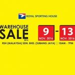 Royal Sporting House Warehouse Sales, Price From RM5 Only!