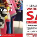 Cheetah The Biggest Warehouse Sales, Price As Low As RM1 Only!