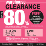 SilkyGirl Warehouse Clearance with FREE Mystery Gift Giveaway!
