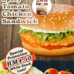 A&W Special Offer Spicy Tomato Chicken Sandwich And Signature RB Only At RM1 Deals!