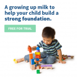 Growing Up Milk Trial (1 Month Supply) Giveaway!