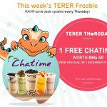 FREE Chatime Drink worth RM6.50 Giveaway!